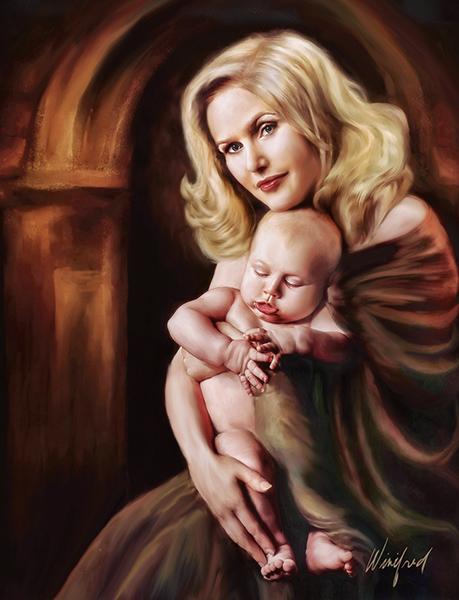 WW mom-child