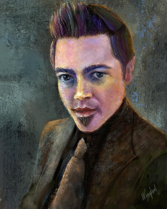 Winifred Whitfield Man Portrait