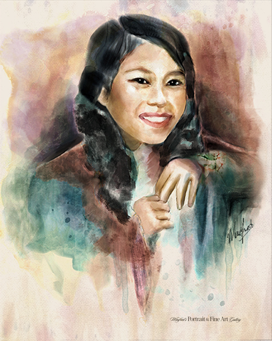 Watercolor portraits winifred s portrait fine art gallery for Portrait painting tutorial