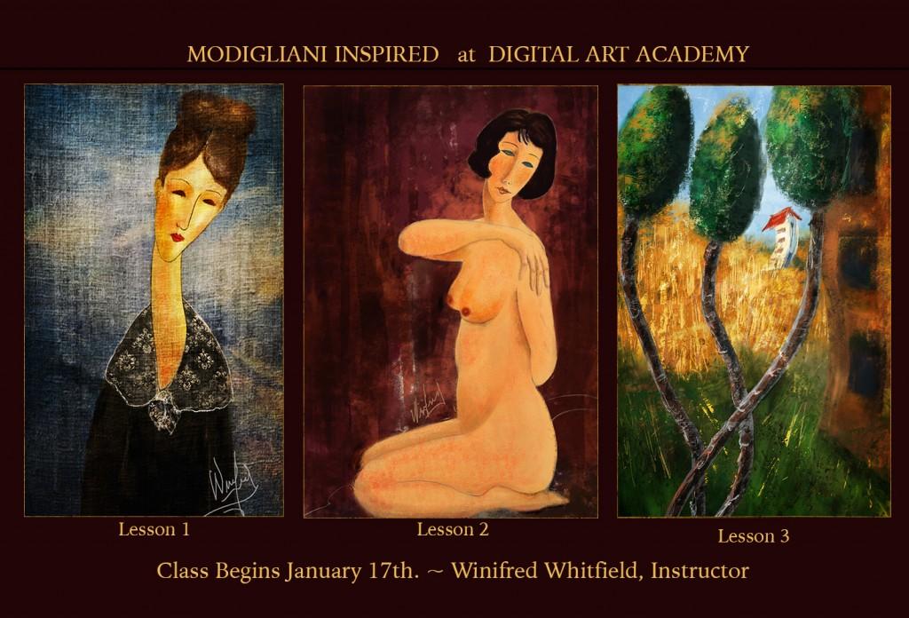 DAA Modiigliani - Winifred Whitfield