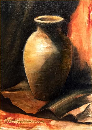 Download Wallpaper Painting Of Vase Full Wallpapers
